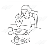 Eat clipart breakfast clipart.