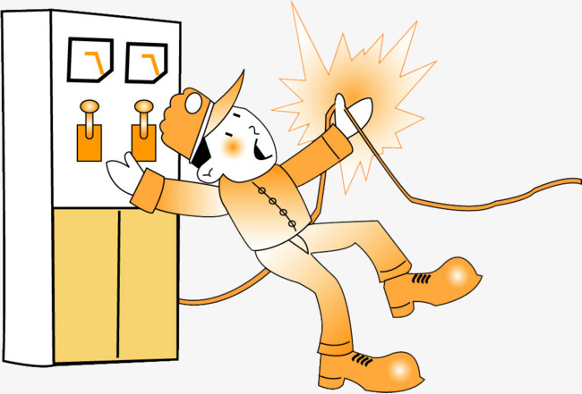 electricity clipart electric shock