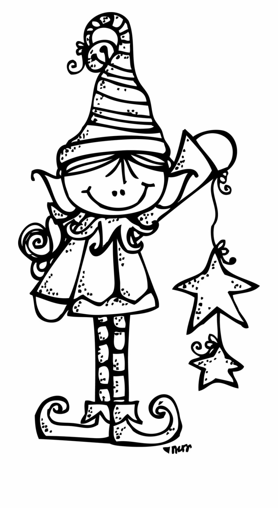 christmas tree clipart black and white melonheadz