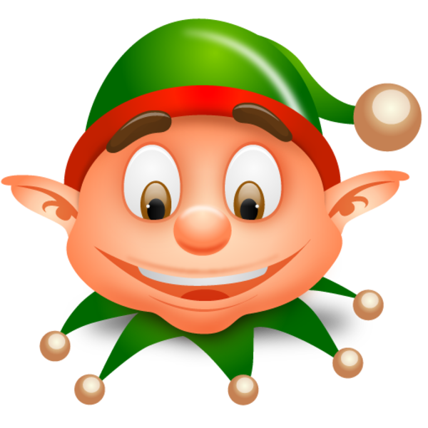 elves clipart couple