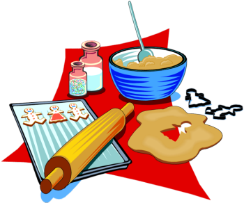 bake clipart baking cookie