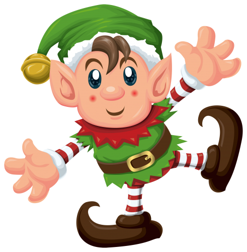 Elves clipart kawaii.