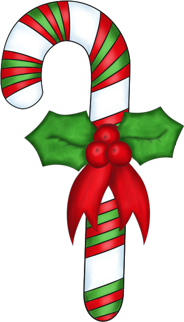 candy clipart christmas