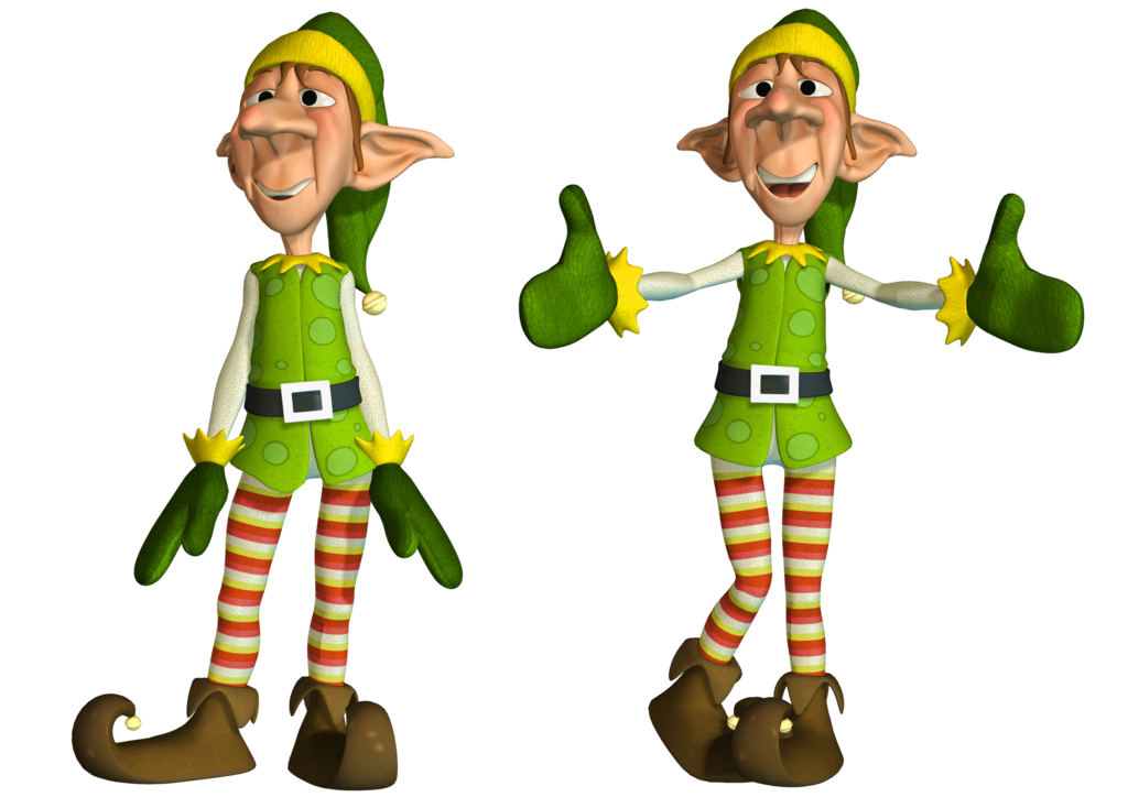 elves clipart worker
