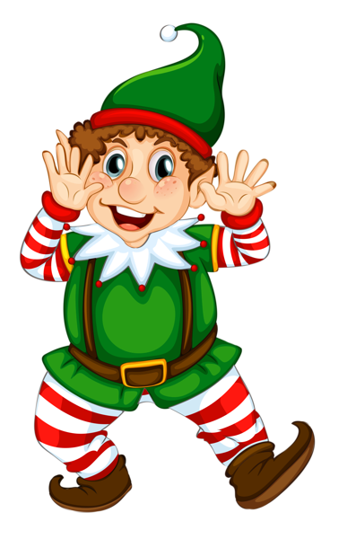 elves clipart santa elf