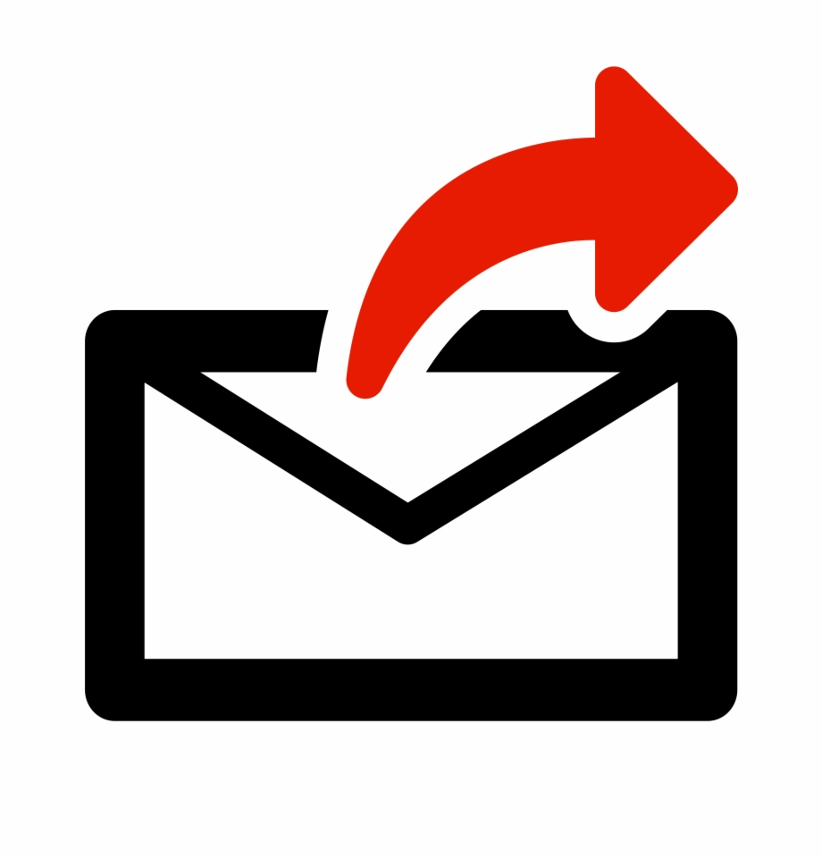 gmail icon clipart forward email vector