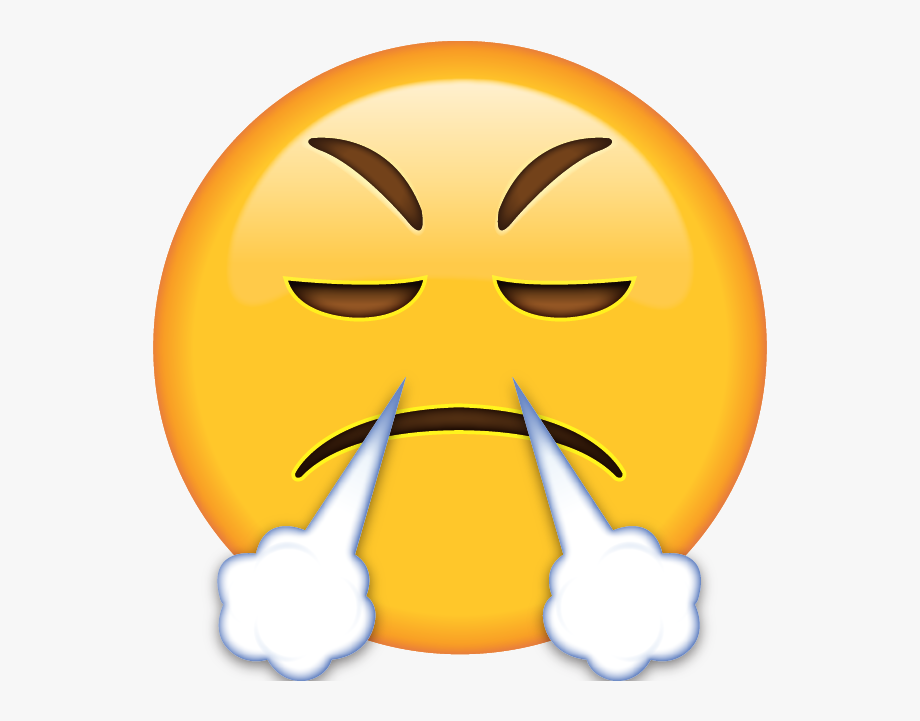 crying emoji clipart angry