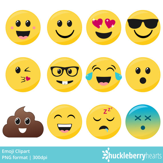 sticker clipart smiley face
