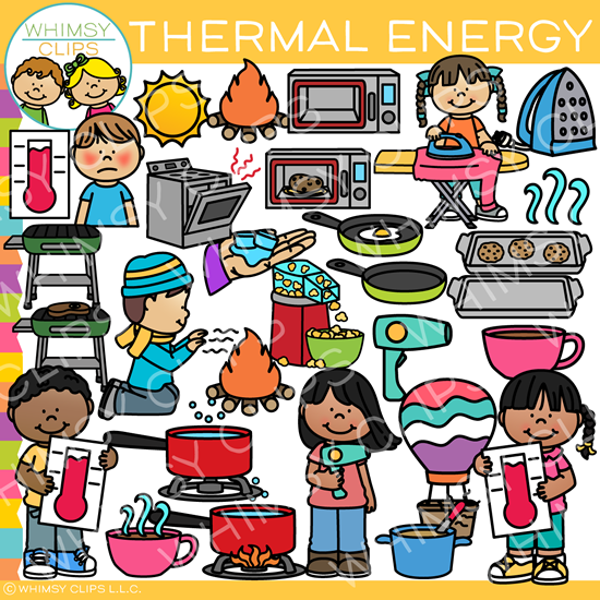 thermography clipart vector illustration