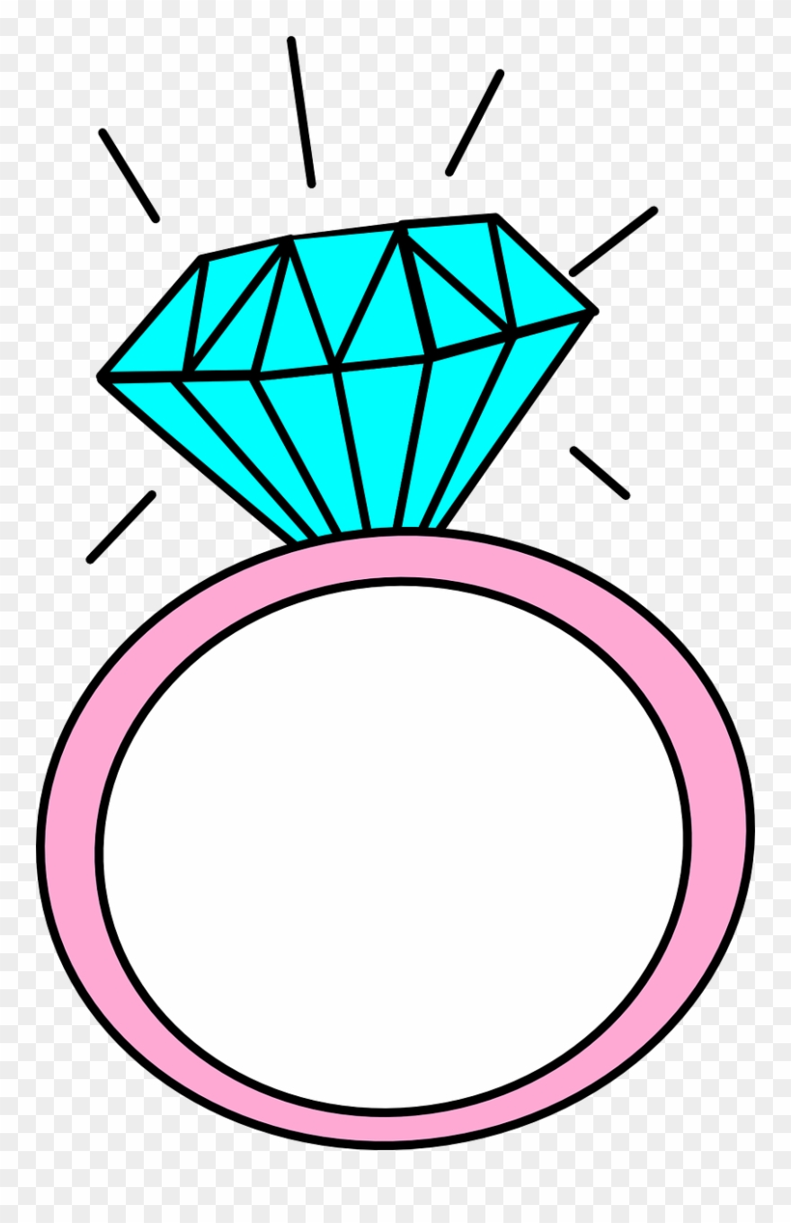 Ring clipart engagement.