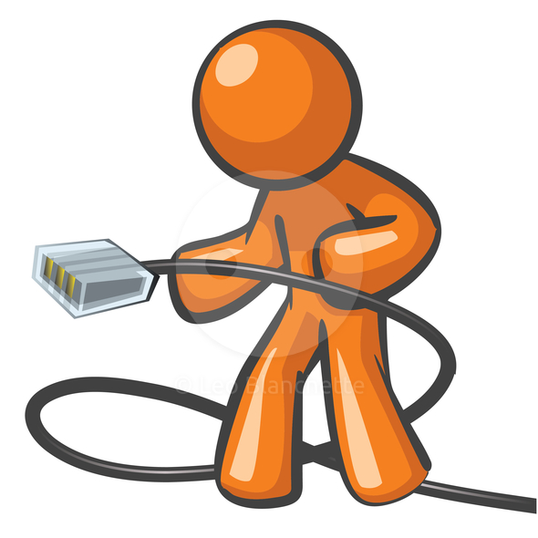 Engineer clipart computer networking.