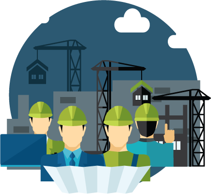 Engineer clipart construction company.