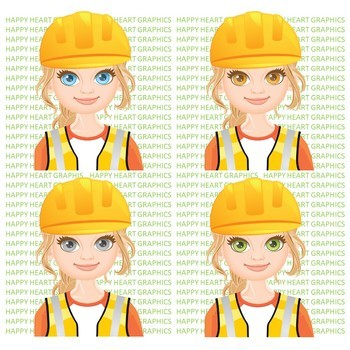 Engineer clipart happy.