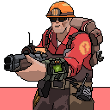 Engineer clipart pip boy.