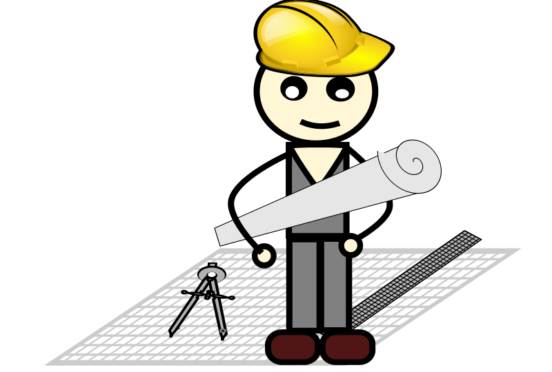Engineer clipart profession.