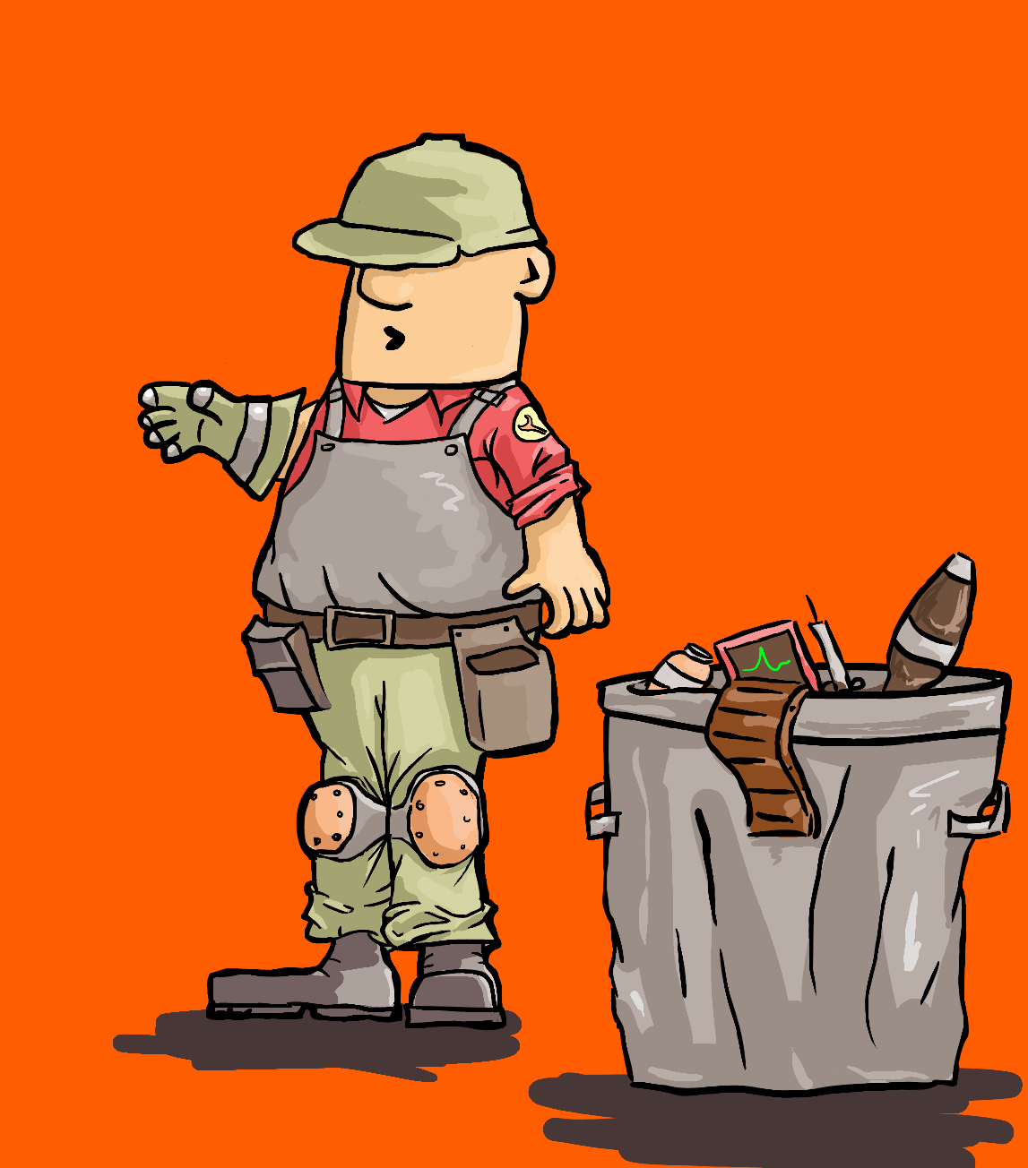 Engineer clipart tf2.