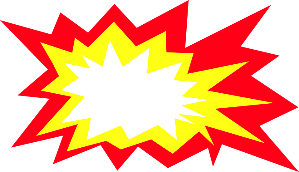 muzzle flash clipart burst