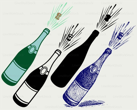 Explosion clipart champagne.