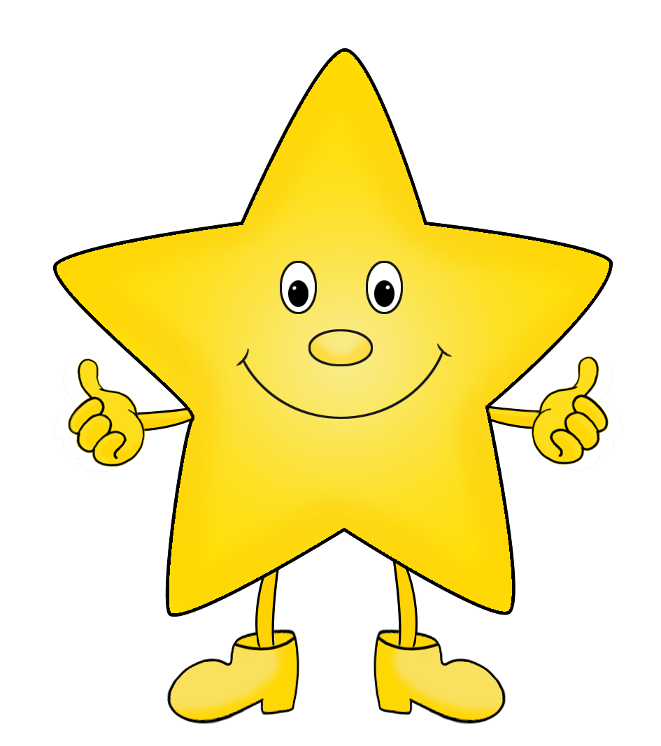stars images clipart cartoon