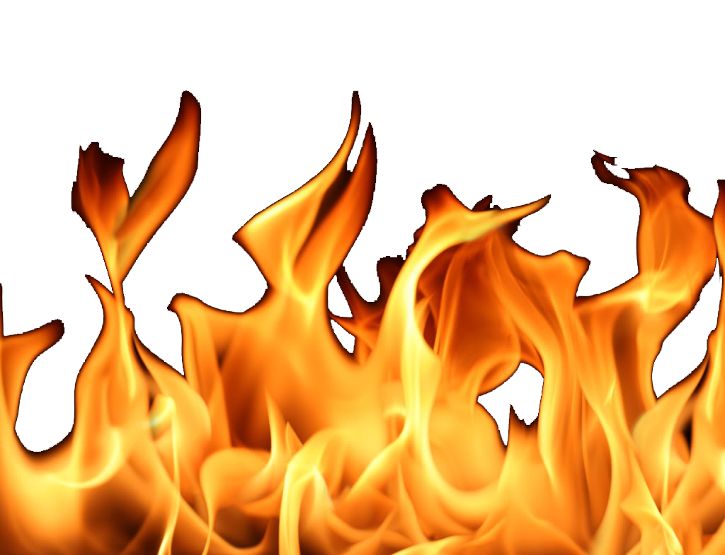 flame clipart realistic