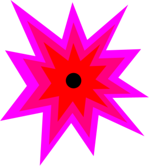 Explosion clipart cool.