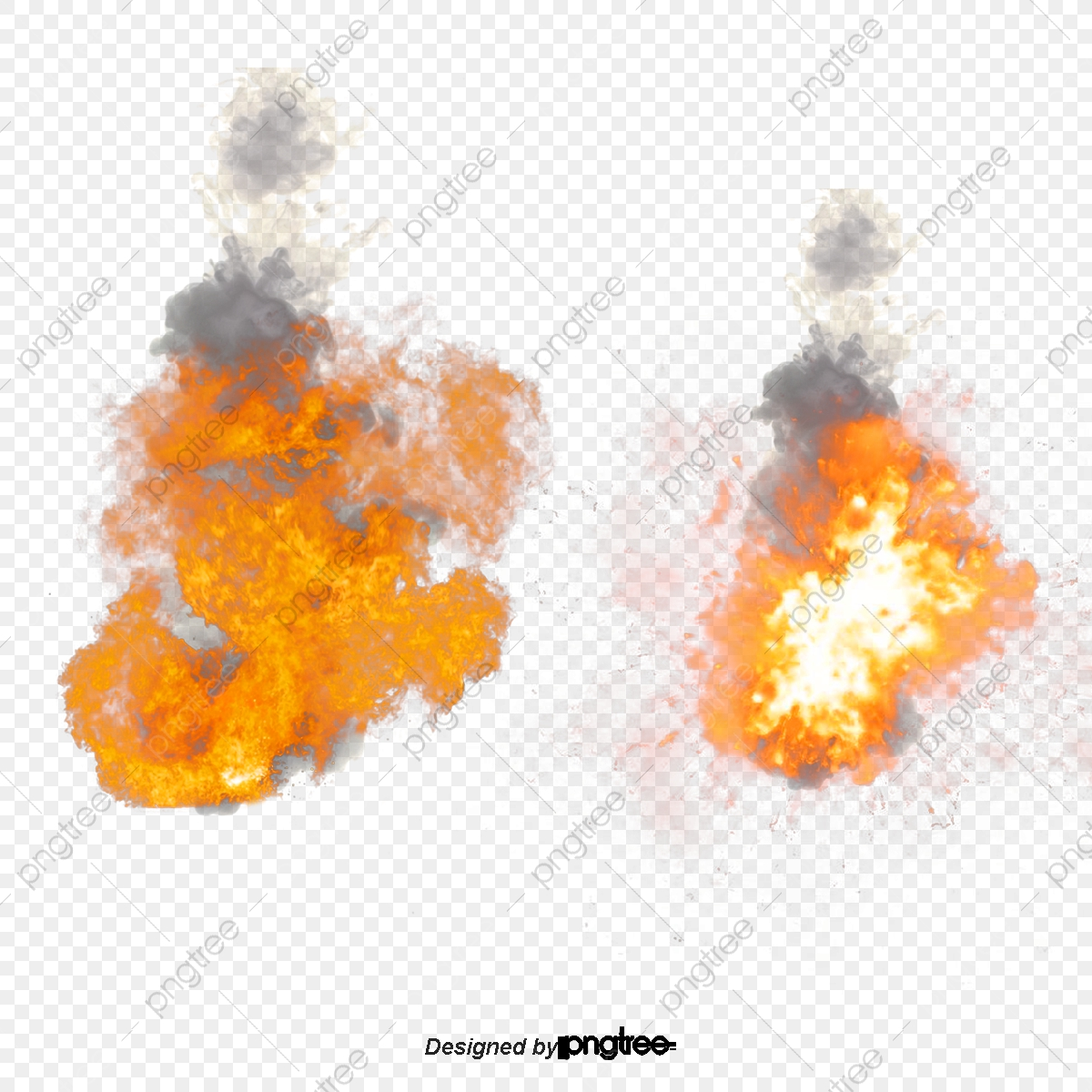 Explosion clipart fiery.