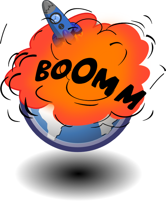 Explosion clipart mind explosion.