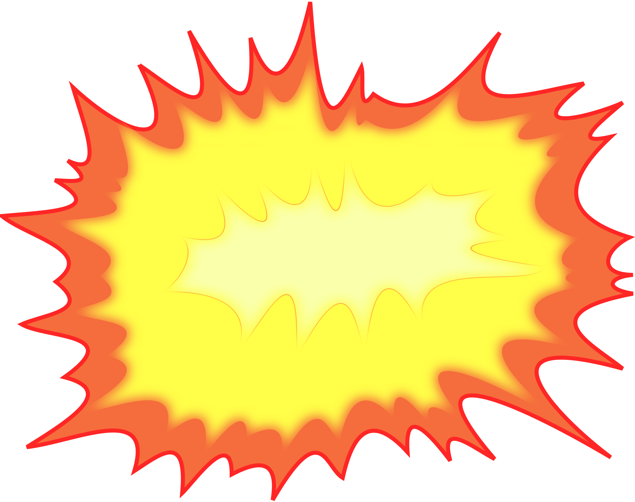 Explosion clipart tagging png.