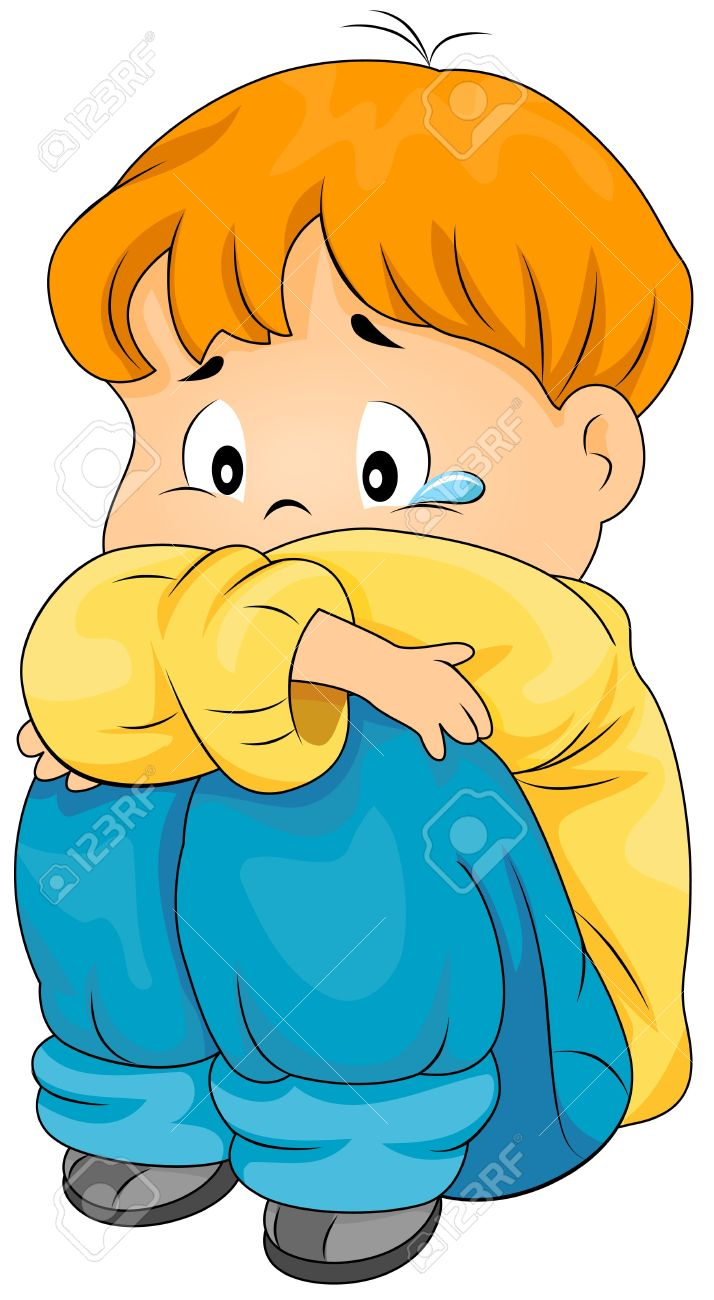 grieved clipart depressed