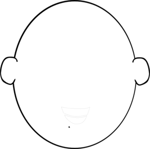 head clipart outline