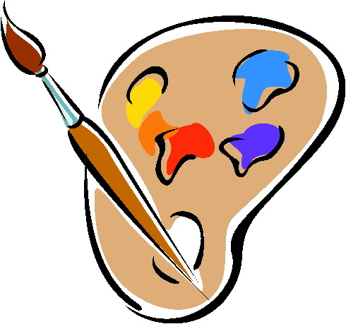 face painting clipart cartoon