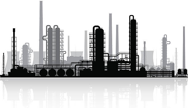 Factory clipart chemical factory.