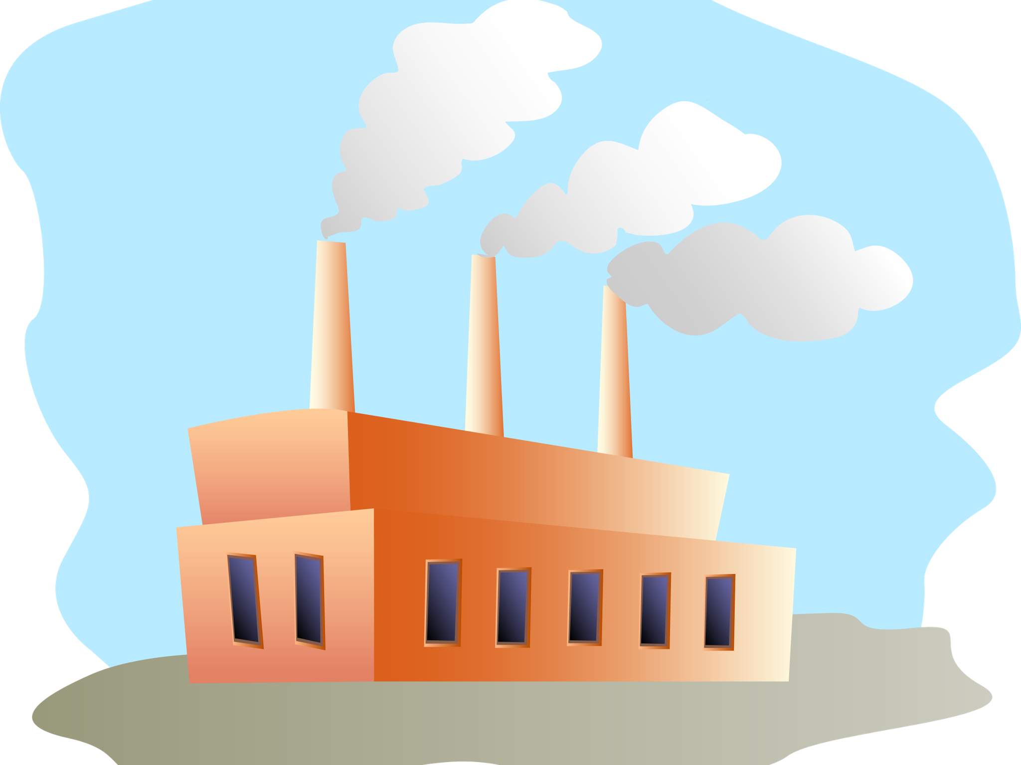 Factory clipart industrial age.