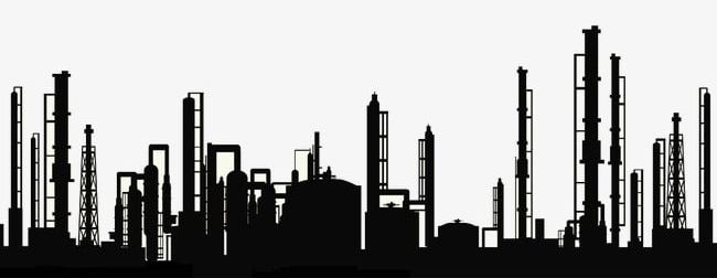 Factory clipart industrial city.