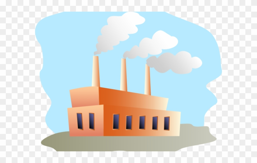 Factory clipart industrial estate.