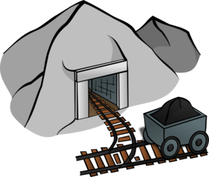 Diamonds clipart mines.