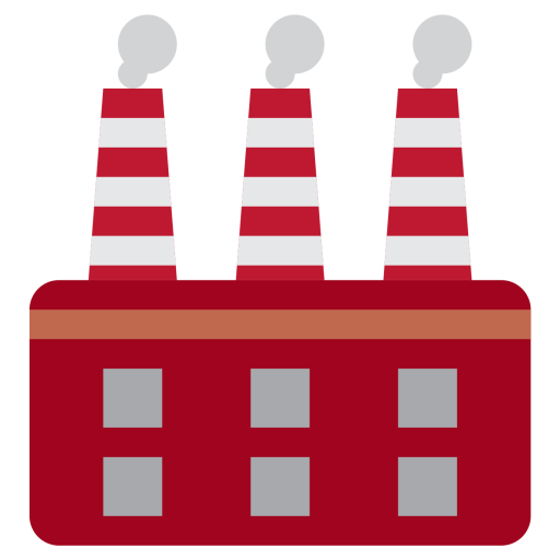 Factory clipart manufacturing unit.