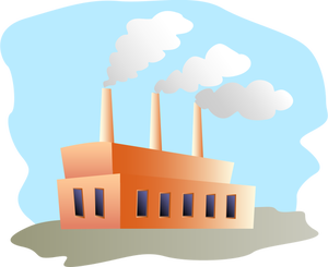 Factory clipart.