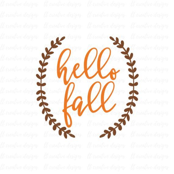 Fall clipart svg.