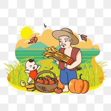 Wheat clipart farm.