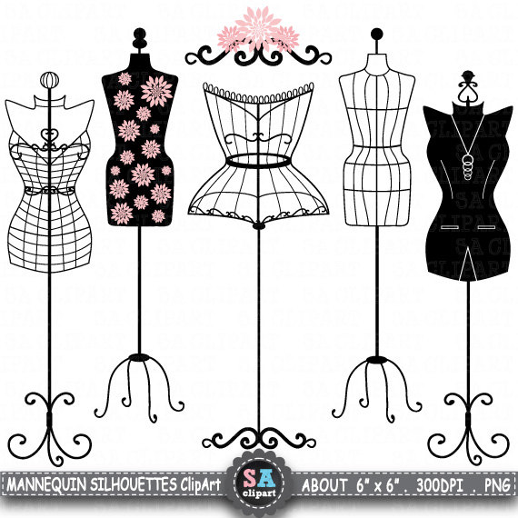 Fashion clipart cute dress.