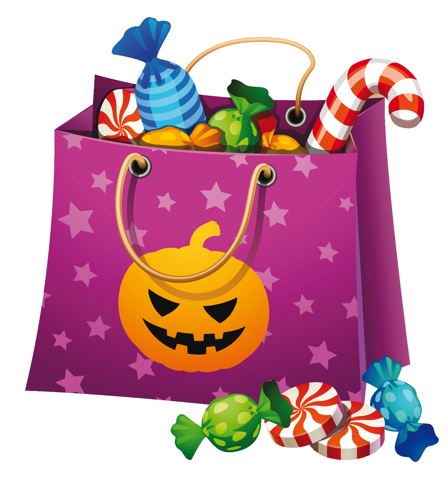 candy clipart halloween