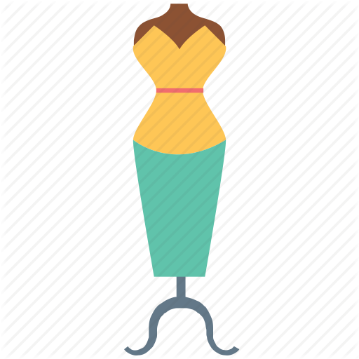 Fashion clipart sewing mannequin.