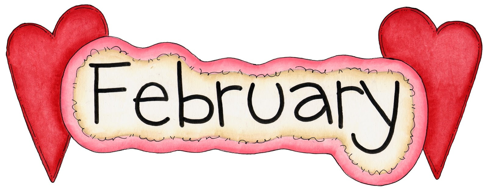 February clipart transparent.