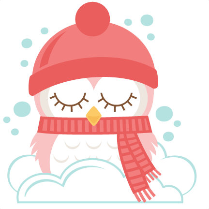 winter clipart owl