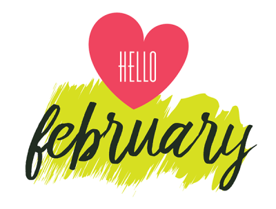 February clipart early.