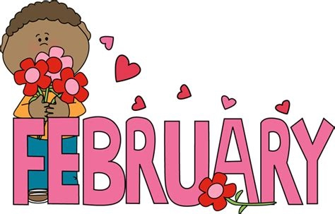 February clipart february newsletter.