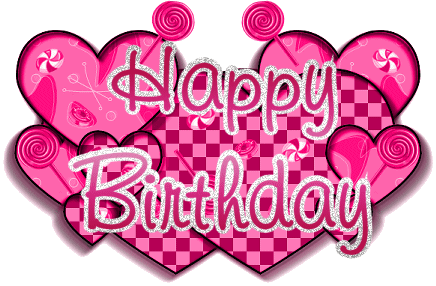 February clipart happy birthday.