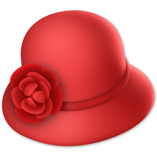February clipart hat.