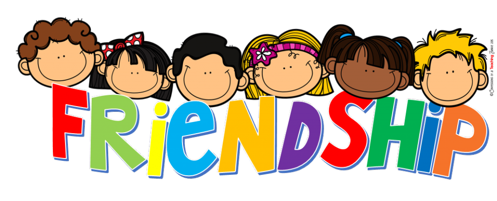 friendship clipart word